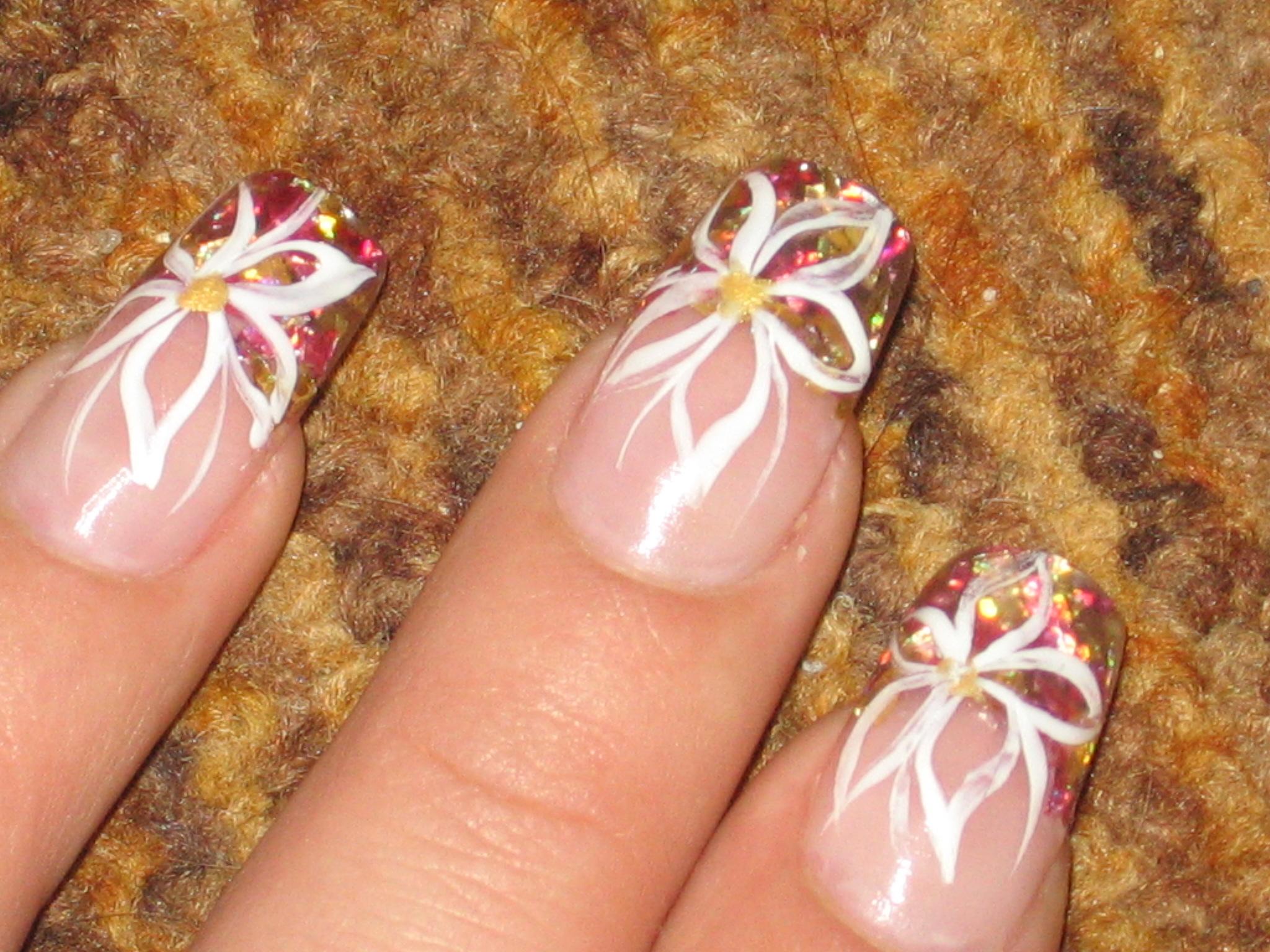 В домашних условиях оформление ногтей фото